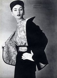 Lanvin, 1953 Photo by Guy Arsac
