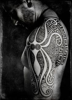Sacred Geometry Tattoos | ... Spiritualism into Tribal Tattoos « Tattoo Artists « Ratta Tattoo