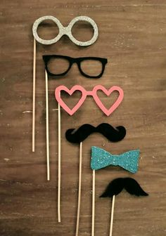 photobooth props! #moustache #wedding Or minus the booth and just for kicks!