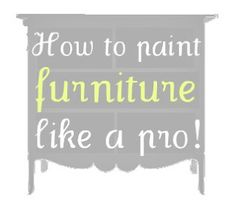 For when I decide to redo that stupid end table