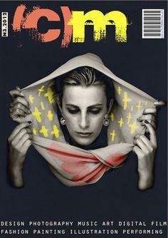 (CIRKUMFLEKS)Magazine (covers) by Ed Safin, via Behance