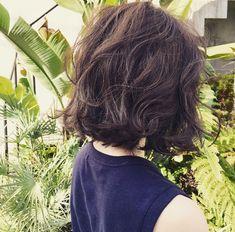 髪型について。 | のりこオフィシャルブログ「Noricoco room 〜365日コーディネート日記〜」Powered by Ameba Permed Hairstyles, Pretty Hairstyles, Digital Perm, Mid Length Hair, Good Hair Day, Short Hair Styles, Hair Makeup, Hair Cuts, Hair Beauty
