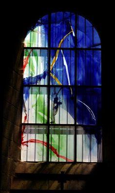 (Vitrail) Vitraux de la basilique Saint-Julien de Brioude (Haute-Loire)