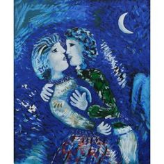 Marc Chagall, La Mariée (1950) | Marc chagall, Paintings and Artist