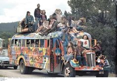 peace, love, and amazing transportation.