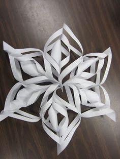 Simply The Classroom: Handmade Snowflakes