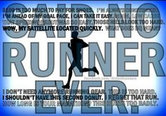 ...said no runner ever....