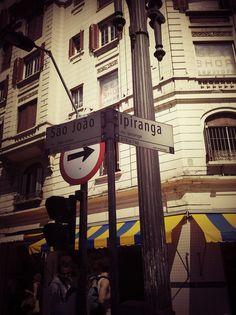 quando cruza a Ipiranga com Av. São João -SAMPA (São Paulo - Brasil)