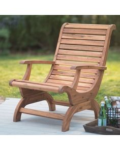We've done the searching for you. Find the best prices on outdoor belham living avondale adirondack chair - natural at Shop Better Homes & Gardens. Outdoor Wood Furniture, Diy Garden Furniture, Furniture Care, Cool Furniture, Paint Furniture, Modern Furniture, Quality Furniture, Furniture Plans, Bedroom Furniture