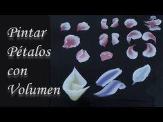 Pintar pétalos con volumen. Paint petals - YouTube