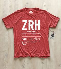 the talented duo of Heads of State come out with travel inspired goods... want this!   Zurich | ZRH