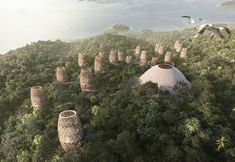 A site with unique natural characteristics in Cabo Marqués, Acapulco, provides the parti pris guiding the formal experimentation employed for a hotel, a project by SMA, that seeks total harmony with nature. World Architecture Festival, Hotel Architecture, Colon Panama, Monument Valley, House, Instagram, Places, Nature, Design Interiores