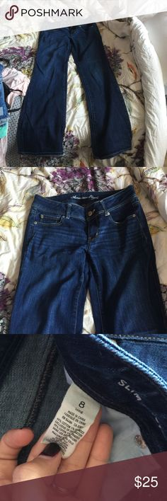 American eagle dark wash boot cut jeans American eagle dark wash boot cut jeans American Eagle Outfitters Jeans Boot Cut