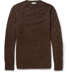 Margaret HowellWool and Cashmere-Blend Knitted Sweater