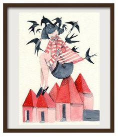 Swallows' night (Noche de golondrinas)