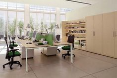 40 best Office Layout images on Pinterest | Desk, Workplace and Desk ...