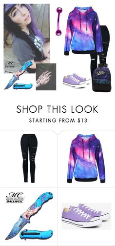 Me? Emo? by gummybear53 on Polyvore featuring Converse and Vans