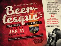 We're bringing Beer-Lesque to Columbus!