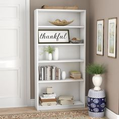 Shop a great selection of Kirkbride Standard Bookcase Ebern Designs. Find new offer and Similar products for Kirkbride Standard Bookcase Ebern Designs. Cube Bookcase, Etagere Bookcase, Bookcases, Modern Bookcase, First Apartment Essentials, Folding Room Dividers, Bookcase Styling, Home Decor Inspiration, Bookshelf Inspiration