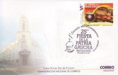 05 - 1a Emisión del Bicentenario - 25ta Fiesta de la Patria Gaucha - Comidas
