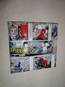 The Party Wall: Sneak Peek: Spiderman Party, Comic Letter Tutorial
