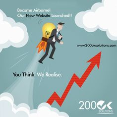Become Airborne! Our New Website Launched!! visit www.200oksolutions.com