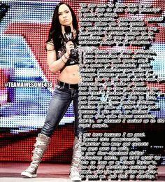 AJ Lee pipebomb #WWE