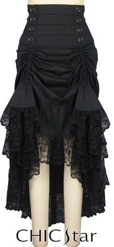 Chic Star | Victorian Gothic Adjustable Length Skirt  $52.00 - Plus size $56.00  Designed by Amber Middaugh and Cecilia Estevez Estevez