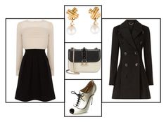 """""""Outfit # 2497"""" by voltinimiriam ❤ liked on Polyvore featuring Tiffany & Co., Valentino, Karen Millen and Burberry"""