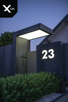 Ideas For House Entrance Exterior Modern Fence - Zaun House Gate Design, Door Gate Design, Gate House, Entrance Design, Entrance Gates, House Entrance, Entrance Ideas, Gate Designs Modern, Modern Fence Design