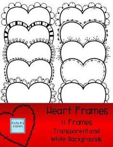 Heart Shaped Borders
