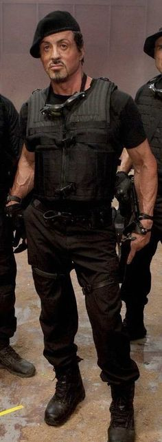 Sylvester Stallone as Barney Ross