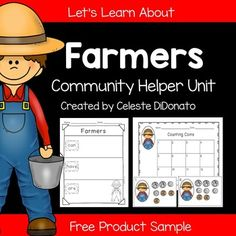 Community Helpers: Farmers Freebie