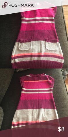 Sleeveless sweater dress Great sweater for layering! Pair with leggings crazy 8 Dresses Casual