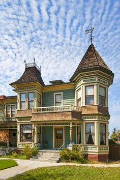 victorian houses in riverside,ca | The Wait House, built in 1888, in Riverside, CA