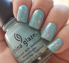 Love this combo of CG For Audrey and NYX Dreamy Glitter