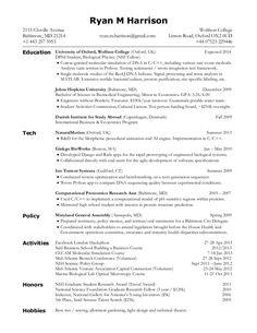 Resume Latex Template Inline Enumerate Inparaenum  Latex Templates  Pinterest  Inline