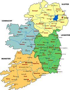Google Image Result For Httpwwwirelandmapxlcomimagesireland - Physical map of ireland