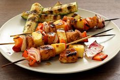 Simple chicken kabob recipe that will turn anyone into a master griller. Paleo Chipotle-Lime Chicken Kabobs Recipe | Paleo Newbie
