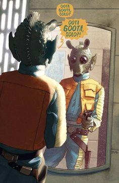 Star Wars: Greedo by Justin Ponsor