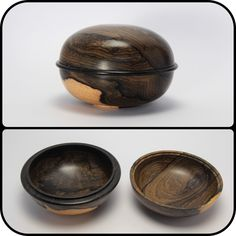 Ziricote and ebony box