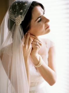 Elegant Vintage Real Wedding | Wedding Sparrow