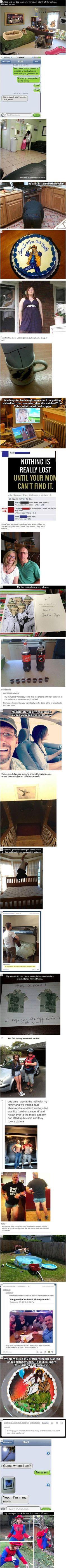 Hilarious parents.: