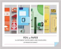 Pen to Paper Notecards / Porter Square Books