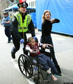 Heroic first responders from the Boston Marathon explosions