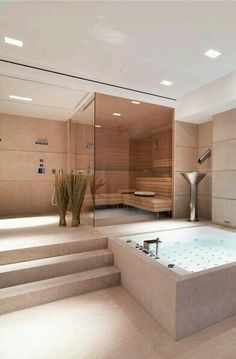 32 modern bathrooms that stand for luxury - Bathroom Decoration Luxury . - 32 modern bathrooms that stand for luxury – Bathroom Decoration Luxury # - Dream Bathrooms, Dream Rooms, Beautiful Bathrooms, Modern Bathrooms, Modern Bathtub, Luxurious Bathrooms, Rustic Bathrooms, Bathrooms Suites, Luxury Bathtub