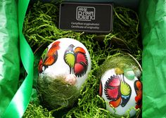 Lowicz Easter set - My Poland Easter Table Decorations, Easter Season, Company Gifts, Hand Engraving, Poland, Easter Eggs, Rooster, Christmas Bulbs, Holiday Decor