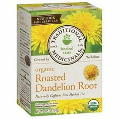 Traditional Medicinals Caffeine Free Organic Herbal Tea Dandelion Root - 0.05 oz.