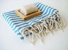 turkish bath towel, bath style (etsy)