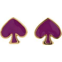 Kate Spade New York Spade to Spade Stud Earrings $48.00